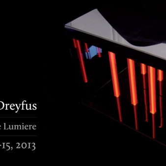 Krampf Gallery - Thierry Dreyfus / Elements de Lumiére Exhibition