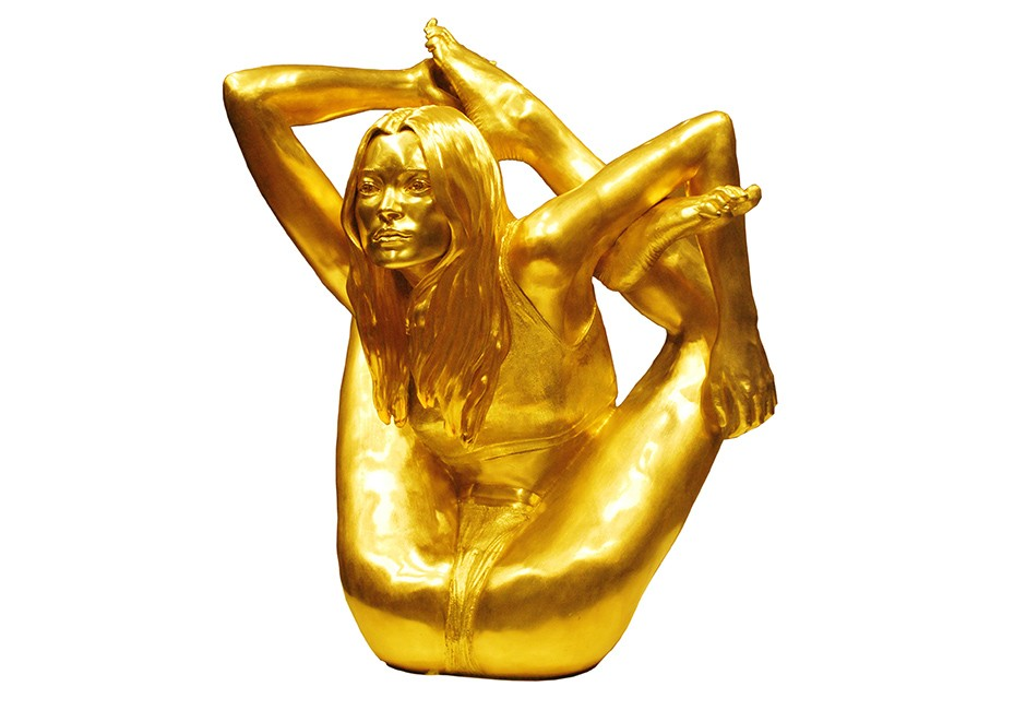 kg-Marc-Quinn-Maquette-for-Siren-18ct_gold_sculpture-31.7-x-29-x-22.1-cm-2008