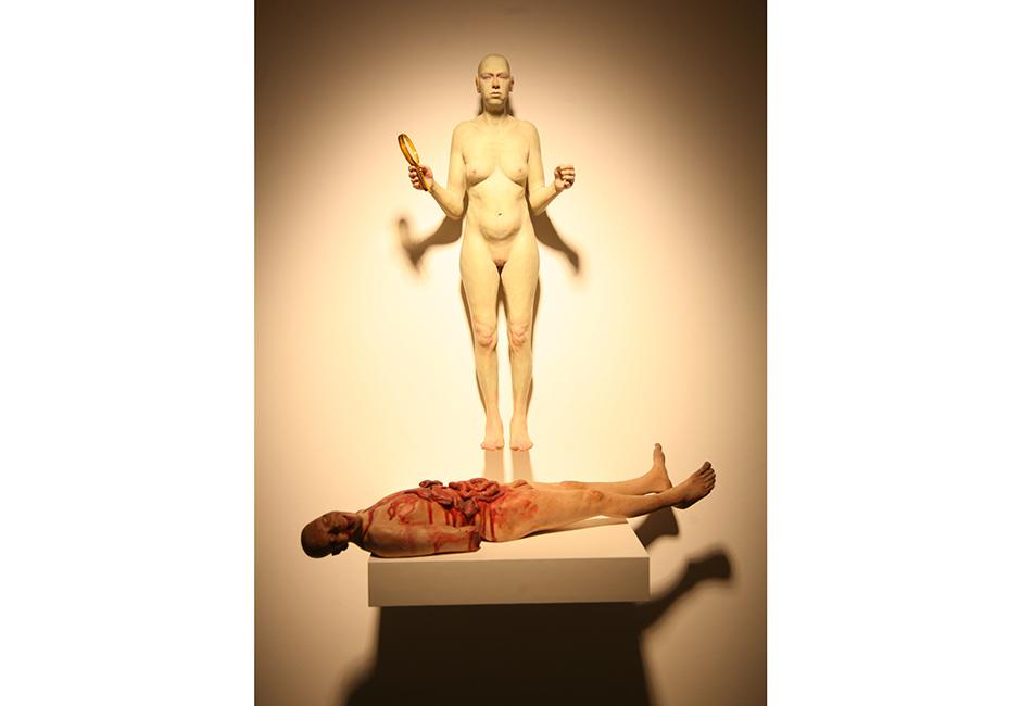 kgRichard-Stipl_Spell_Ceramic-Objects_Figure_Beige_73x17x10cm